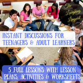 Instant Discussions for Teenagers & Adults - Print 'n' Go