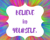 Instant Download- 30 Classroom Posters-Encourage Positive