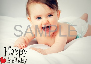Digital Happy Birthday Clip Art Happy Birthday Wording ClipArt 0353