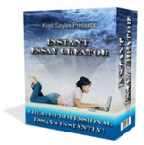 Instant Essay Creator - $37 value for only five bucks here only