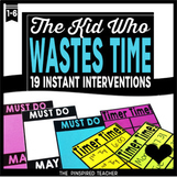 Instant Behavior Interventions for The Kid Who Wastes Time Completing Work