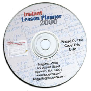 Instant Lesson Planner 2000 Plus
