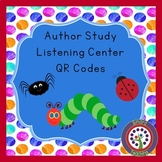 Instant Listening Center - Author Study - QR Codes
