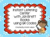Instant Listening Center with Jan Brett Books using QR Codes