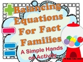 Instant Math Balancing Equations for Fact Families Activity