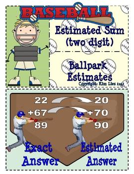 Instant Math Ballpark Addition Estimated Sum