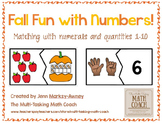 Instant Math Center ~ Matching Numerals 1-10 to Representa
