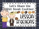 Instant Math: Let's Share the Girl Scout Cookies (Fractions)