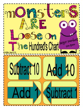 Instant Math Monsters are Loose on the Hundreds Chart