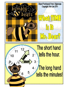 Instant Math What Time is it Mr.Bear