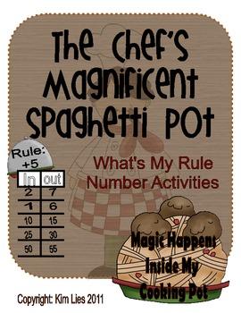 Instant Math What's My Rule Chefs Magic Spaghetti Pot