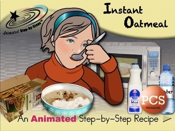 Instant Oatmeal - Animated Step-by-Step Recipe PCS
