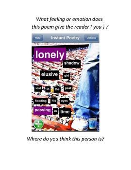 Instant Poetry App ( ELL 6-12 )