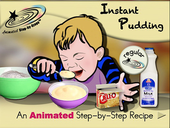 Instant Pudding - Animated Step-by-Step Recipe - Regular