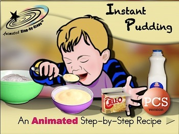 Instant Pudding - Animated Step-by-Step Recipe PCS