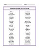 Instant Spelling Word Lists
