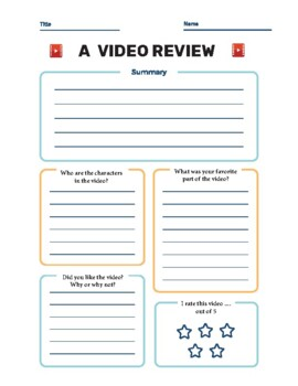 Instant Video Based Lesson Templates