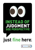 Instead of Judgement see perspective