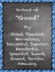 Synonyms Posters (ELA) - Chalkboard Poster Set (Upper Grades)