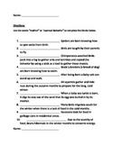 Instincts and Learned Behavior Quiz
