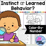 Instincts and Learned Behaviors: Color-By-Number