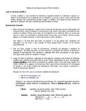 Instrucciones para trabajo de Feria Científica