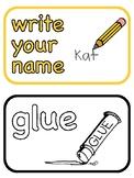 Instruction Cards Colour