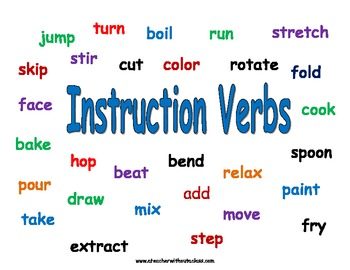 Original on verbs in kindergarten
