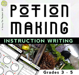 Instruction Writing: Outdoor Magic Potions