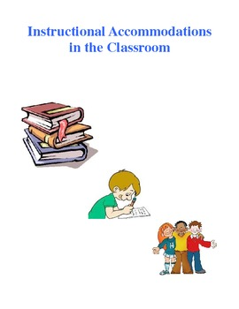 Instructional Accommodations for Students