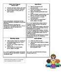Instructional Assistant / Teacher Aid Small Group Menu Options