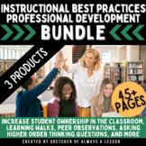 Instructional Best Practices Professional Development Bundle
