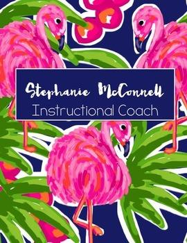 Instructional Coach Binder 2016-17 Flamingo