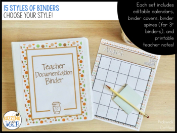 Instructional Coach Binder MegaPack of Printable, Fillable/Editable Forms & More