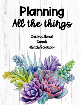 Instructional Coach Planner (Math/Science) 2017-2018
