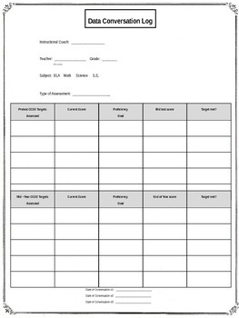 Instructional Coach Forms