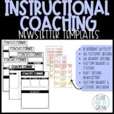 Instructional Coach Newsletter (Editable)