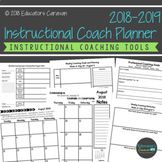 Instructional Coach Planner (Print and Digital)