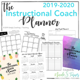 Instructional Coaching: 2019-2020 Instructional Coach Planner