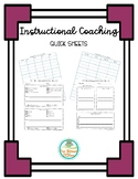 Instructional Coach Quick Check Notes
