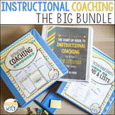 Instructional Coaching Bundle Binder MegaPack, Start-Up Guide, & Book of Lists