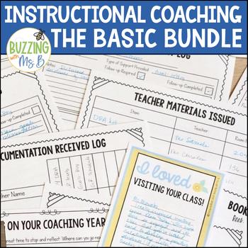 Instructional Coaching Bundle Binder MegaPack, Start-Up Guide, & Book of Lists