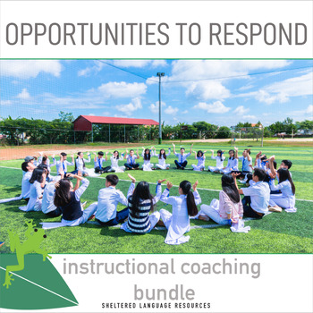 Instructional Coaching Bundle: Opportunities to Respond