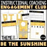 Instructional Coaching Engagement Bulletin Board Be the Sunshine