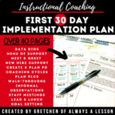 Instructional Coaching: First 30-Day Implementation Plan