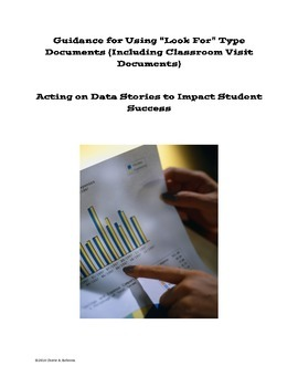 Instructional Coaching-Guidance on Using Classroom Visit Forms