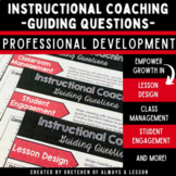 Instructional Coaching: Guiding Questions Template [EDITABLE]