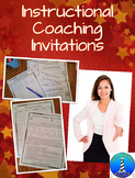 Instructional Coaching and Mentoring Invitations to Teachers