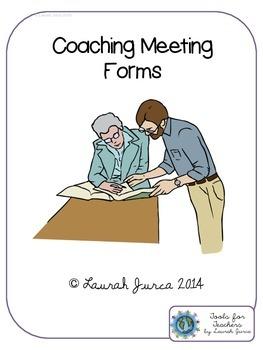 Instructional Coaching Meeting Forms