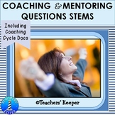 Instructional Coaching & Mentoring Question Stems with Com